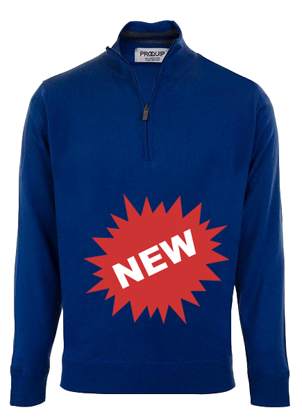 proquip-merino-half-zip-royal-blue